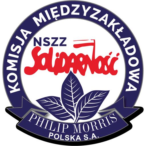 Komisja Międzyzakładowa NSZZ Solidarność przy Philip Morris Polska S.A. Logo